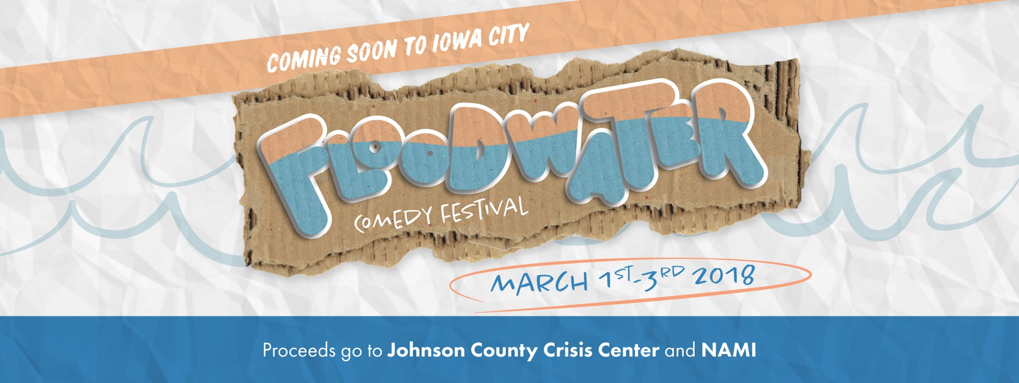 Floodwater Comedy Festival Passes Tickets | Downtown Iowa City | Iowa City,  IA | Thu, Mar 1, 2018 at 7pm - Sun, Mar 4, 2018 at 2am | Little Village